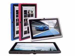 Tablet Silvermax 7 Android 3d Colores Estuche Silicona Sd