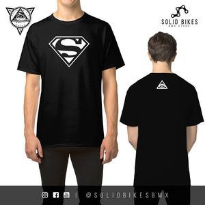 CAMISETA SUPERMAN Y BATMAN Hombre y Mujer