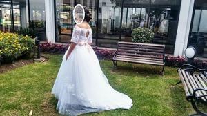 Hermoso vestido de primera comunion