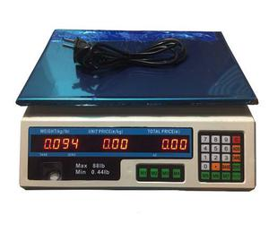 Bascula Electronica Peso Digital Pesa De g A 40kg