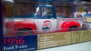 Camioneta A Escala 1/18 Autoword Ford F100 Pepsi Modelo