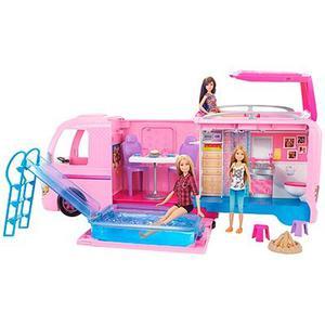 Camper De Barbie Original De Mattel + Obsequio Muñeca