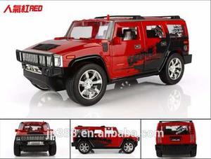 Carro Control Remoto Jeep Todo Terreno Bateria Recargable