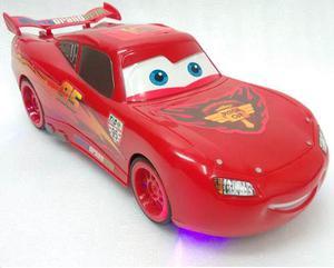 Carro Rayo Mcqueen Cars Grande Control Remoto, Luces.super$