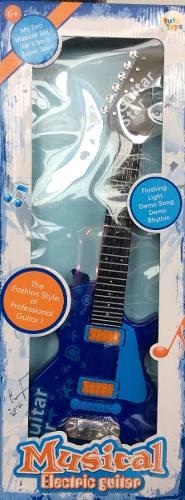 Guitarra Eléctrica Luces Sonidos Juguete Para Niños Y