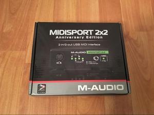 Interface Midi Usb - Maudio Midiman 2X2