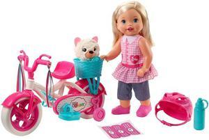 Little Mommy Muñeca Paseo En Bicicleta Mattel