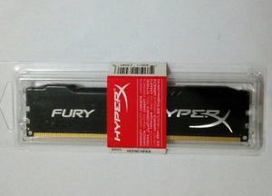 Memoria Ddr3 8gb Kingston Pc Hyperx Fury mhz Nueva