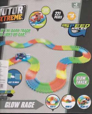 Motor Extreme Magic Tracks Speed Racer (221 Piezas - 3 M)