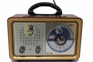Parlante Retro Vintage Bluetooth Usb Fm