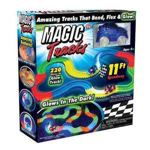 Pista De Carro Magic Tracks 220 Piezas
