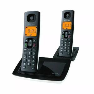Teléfono Inalámbrico Alcatel Versatis E100 Duo Dect 6 0