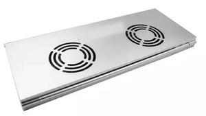 Base Refrigerante Metalica Plegable Usb Portatil De