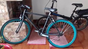 Bicicleta económica tipo Fixie ruta