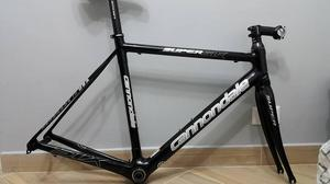 Espectacular Marco CANNONDALE full carbon, talla M!!