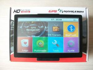 Gps 7 Pulgadas Táctil Bluetooth Multimedia Sygic Igo