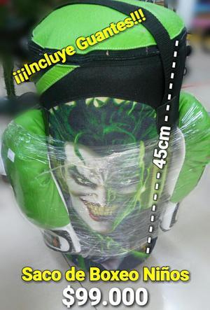 Saco de Boxeo para Niños El Joker