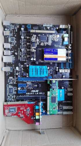 Board Asus M5a97 R2.0 + Tarjeta De Sonido - Tv - Red