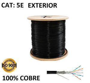 Cable Red Utp Categoria 5 Exterior 100% Cobre X 305 Sku-