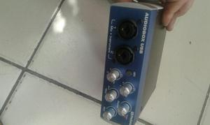 Interfaz de Audio Profesional $290