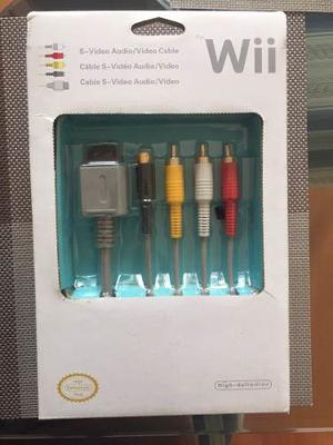 Juego De Cables Para Consola De Nintendo Wii Y Wii Mini