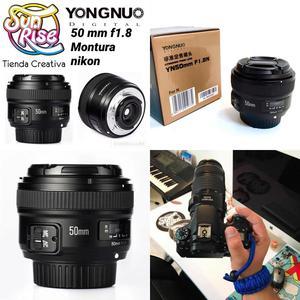 Lente Yongnuo 50Mm Montura Nikon Kit