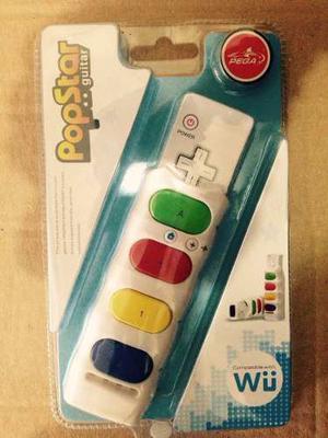 Pop Star Guitarra Para Control Remoto Inalambrico Wii