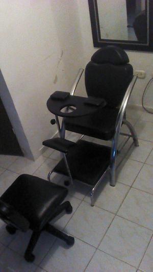 Silla de Manicure Y Pedicure.