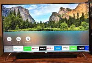 Televisor Samsung 60 Pulgadas 4k Con Barra De Sonido Samsung