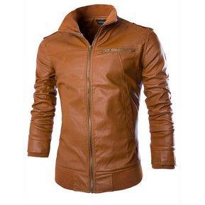 chaqueta de cuero de mujer 100 original
