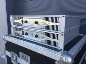planta amplificador american audio v peavey crown jbl