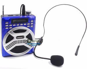 Altavoz Parlante Grabador Voz Bluetooth Diadema Micro Sd Usb