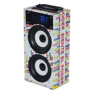 Parlante Bluetooth Color Boom, 10w, Radio Fm, Usb / Micro Sd