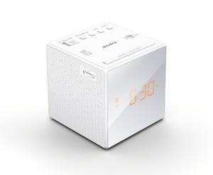 Radio Reloj Despertador Sony Blanco Icf-c1 Envío Gratis