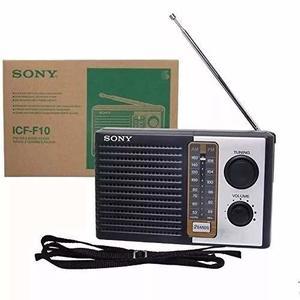Radio Sony Icf 10 Nuevo Sellado Original Garantizado