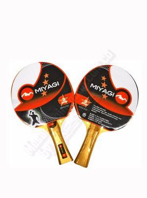 Raqueta De Ping Pong Miyagi 3 Estrellas Unidad