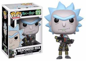 Rick And Morty Weaponized Rick Figura Funko Pop