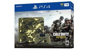 Consola Play Station 4 slim 1Tb Call of Duty ww2