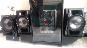 Equipo De Sonido Sony Genezy Dual Usb Mp3