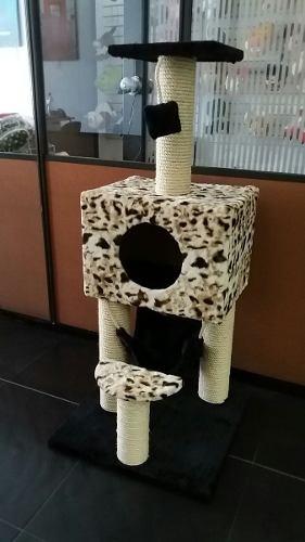 Gimnasio Para Gato Rascador Cama Juego Entretenimiento