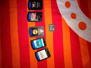 Ps Vita 8 Gb 5 Juegos Emulador