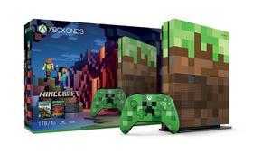 XBOX ONE S 1 TB 1 TERA MINECRAFT EDICION UNICA DE LAS