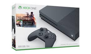 "Xbox One S 500GB con Battlefield 1 ""ENTREGA INMEDIATA"