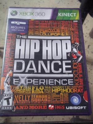 juego de xbox360 hip hop dance experience nuevo