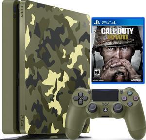 vendo Consola Ps4 Slim 1tb Edición Call Of Duty Ww2 entrego