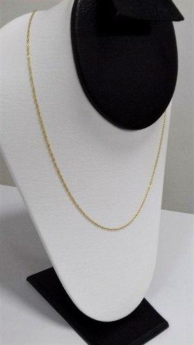 Cadena En Oro Amarillo 18k Para Mujer 50cm Ref: