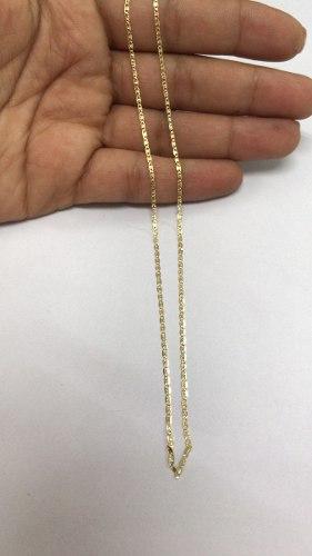 Cadena En Oro Italiano 750 De 18k Tres Oro