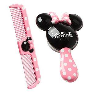 Conjunto De Minnie Cepillo Y Peine De Disney