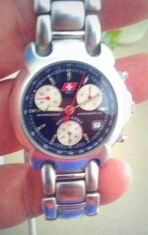 Precioso Reloj Swiss Army, 100 Original, Importado, Muy Poco