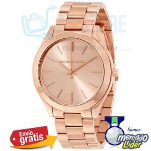 Reloj Michael Kors Mkmm Oro Rosa 100% Originales